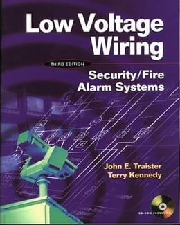 Book Low Voltage Wiring: Security/Fire Alarm Systems by Kennedy, Terry
