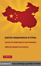 Judicial Independence in China