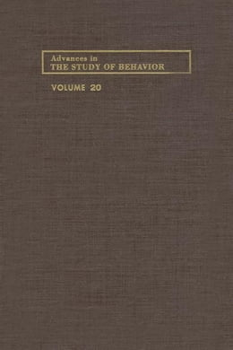 Book Advances in the Study of Behavior by Slater, Peter