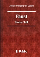 Faust - Erster Teil by Johann Wolfgang von Goethe