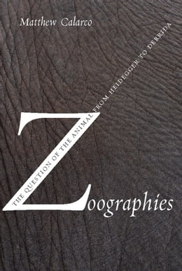 Book Zoographies: The Question of the Animal from Heidegger to Derrida by Matthew Calarco