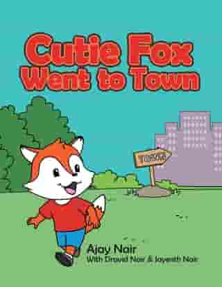 Cutie Fox Went to Town by Ajay Nair