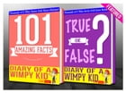 Diary of a Wimpy Kid - 101 Amazing Facts & True or False?: Fun Facts and Trivia Tidbits Quiz Game Books by G Whiz