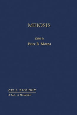 Book Meiosis by Moens, Peter
