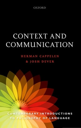 Book Context and Communication by Herman Cappelen
