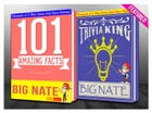 Big Nate - 101 Amazing Facts & Trivia King!: Fun Facts and Trivia Tidbits Quiz Game Books by G Whiz
