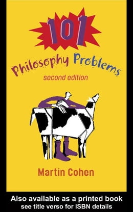 Book 101 Philosophy Problems by Cohen, Martin