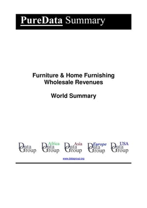 Furniture & Home Furnishing Wholesale Revenues World Summary: Market Values & Financials by Country by Editorial DataGroup