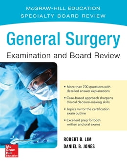 Book General Surgery Examination and Board Review by Robert Lim