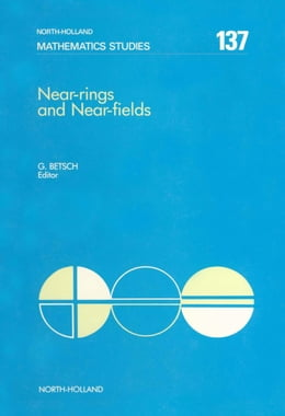 Book Near-Rings and Near-Fields by Betsch, G.