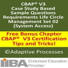 CBAP Case study based question - Requirement life circle management set- 02 by LN Mishra