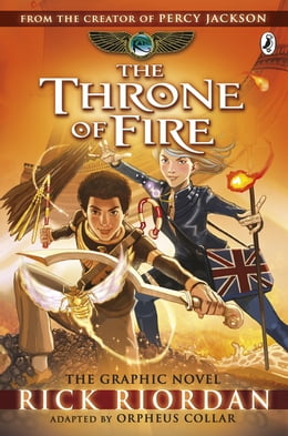 Book The Throne of Fire: The Graphic Novel (The Kane Chronicles Book 2) by Rick Riordan