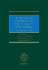 The Law of Security and Title-Based Financing