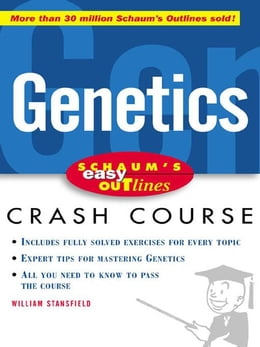 Book Schaum's Easy Outline of Genetics by Stansfield, William