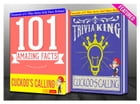 The Cuckoo's Calling - 101 Amazing Facts & Trivia King!: Fun Facts and Trivia Tidbits Quiz Game Books by G Whiz