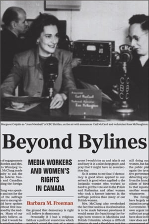 Beyond Bylines Media Workers and Women?s Rights in Canada