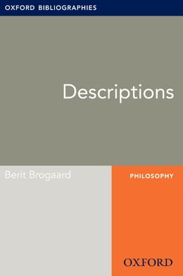 Book Descriptions: Oxford Bibliographies Online Research Guide by Berit Brogaard