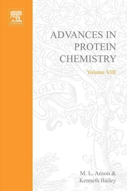 Book Advances in Protein Chemistry by Anson, M.L.