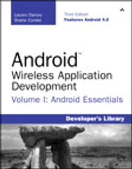 Book Android Wireless Application Development Volume I: Android Essentials by Lauren Darcey