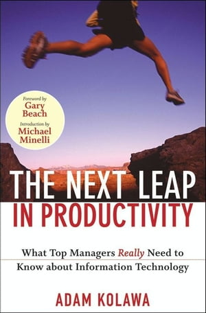The Next Leap in Productivity What Top Managers Really Need to Know about Information Technology