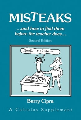Book Misteaks: And How to Find Them Before the Teacher Does by Cipra, Barry