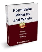 Formidable Phrases And Words by David Maschke