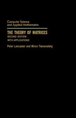 Book The Theory of Matrices: With Applications by Lancaster, Peter