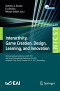 Interactivity, Game Creation, Design, Learning, and Innovation d1961629-12b0-4982-973e-c7264e372986