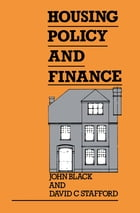 Housing Policy and Finance
