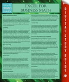 Excel For Business Math by Speedy Publishing