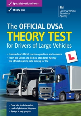 Book The Official DVSA Theory Test for Drivers of Large Vehicles (14th edition) by DVSA The Driver and Vehicle Standards Agency