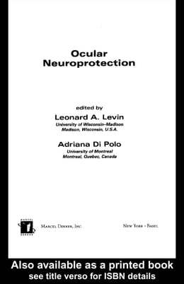 Book Ocular Neuroprotection by Levin, Leonard A.