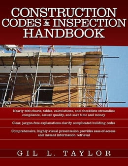 Book Construction Codes & Inspection Handbook by Taylor, Gil