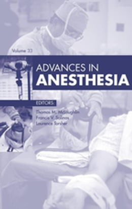 Book Advances in Anesthesia, by Thomas M. McLoughlin