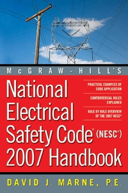 Book National Electrical Safety Code (NESC) Handbook Part 1 by Marne, David J.,