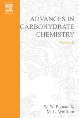 Book Advances in Carbohydrate Chemistry by Pigman, W.W.