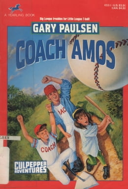 Book COACH AMOS by Gary Paulsen