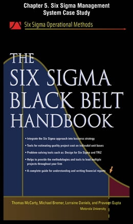 Book The Six Sigma Black Belt Handbook, Chapter 5 - Six Sigma Management System Case Study by Thomas McCarty