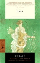 Odes: With the Latin Text by Horace