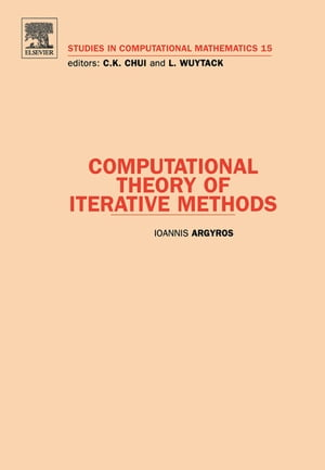 Computational Theory of Iterative Methods