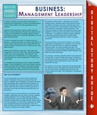 Business: Management Leadership (Speedy Study Guides)