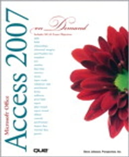 Book Microsoft Office Access 2007 On Demand by Steve Johnson