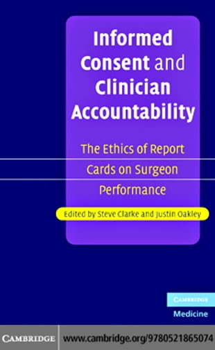 Informed Consent Clinician Account
