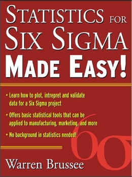 Book Statistics for Six Sigma Made Easy by Brussee, Warren