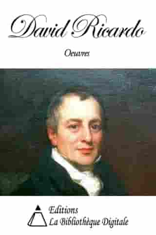 Oeuvres de David Ricardo by David Ricardo