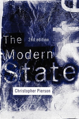 Book The Modern State by Pierson, Christopher