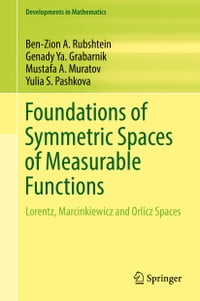 Foundations of Symmetric Spaces of Measurable Functions: Lorentz, Marcinkiewicz and Orlicz Spaces