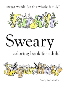 Swear Word Coloring 38 Books Available