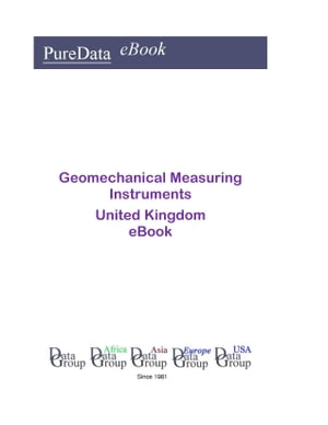 Geomechanical Measuring Instruments in the United Kingdom
