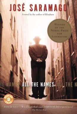 Book All the Names by Jose Saramago